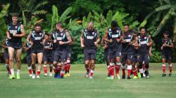 Latihan PSM Makassar di Yogyakarta