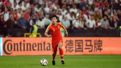 Indosport - Wu Lei, striker Timnas China.