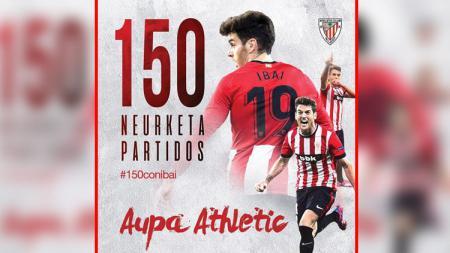 Ibai Gomez, gelandang serang Athletic Bilbao. - INDOSPORT