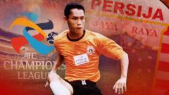 Indosport - Pemain Persija yang sempat rasakan tampil di Liga Champions Asia 2002, diantaranya Anang Maruf