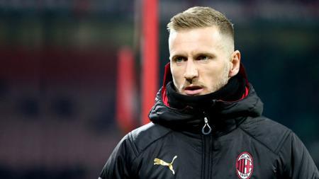 Ignazio Abate, bek AC Milan yang akan bergabung ke Lecce untuk musim depan. - INDOSPORT