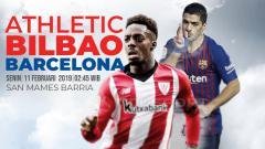 Indosport - Prediksi Athletic Bilbao vs Barcelona
