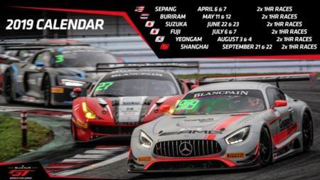 GT World Challenge Asia. - INDOSPORT