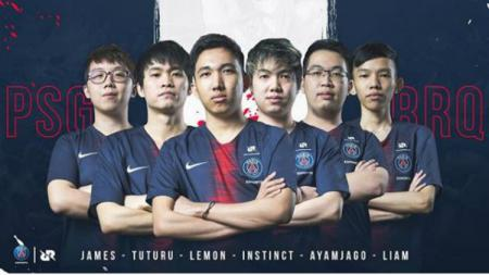 Tim RRQ jalin kerja sama dengan Paris Saint-Germain. - INDOSPORT