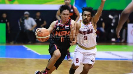 Laga basket IBL Indonesia,NSH vs Hang Tuah. - INDOSPORT