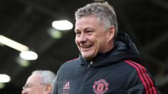 Indosport - Pelatih Manchester United, Ole Gunnar Solskjaer.