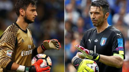 Donnarumma disebut dengan The Next Buffon - INDOSPORT