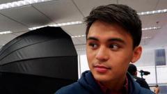 Indosport - Putra Manny Pacquiao, Emmanuel atau yang akrab disapa Jimuel.