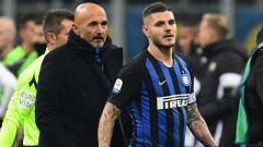 Indosport - Pelatih dan striker Inter Milan