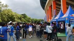 Indosport - Bobotoh, pendukung Persib Bandung.