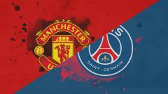 Indosport - Ilustrasi laga Manchester United vs Paris Saint-Germain.