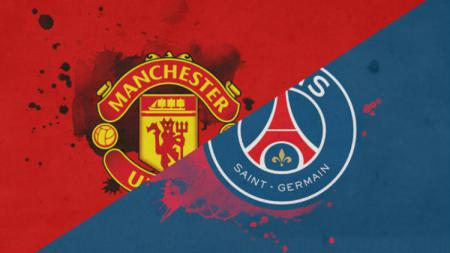Ilustrasi laga Manchester United vs Paris Saint-Germain. - INDOSPORT