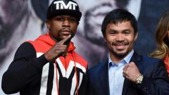 Indosport - Floyd Mayweather dan Manny Pacquiao