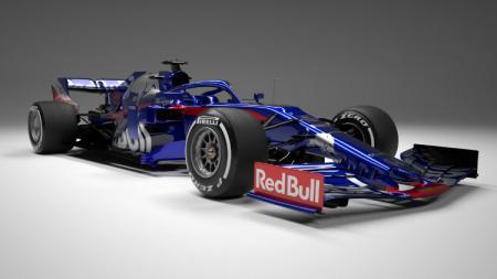 Mobil baru Toro Rosso untuk musim balap Formula 1 2019. - INDOSPORT