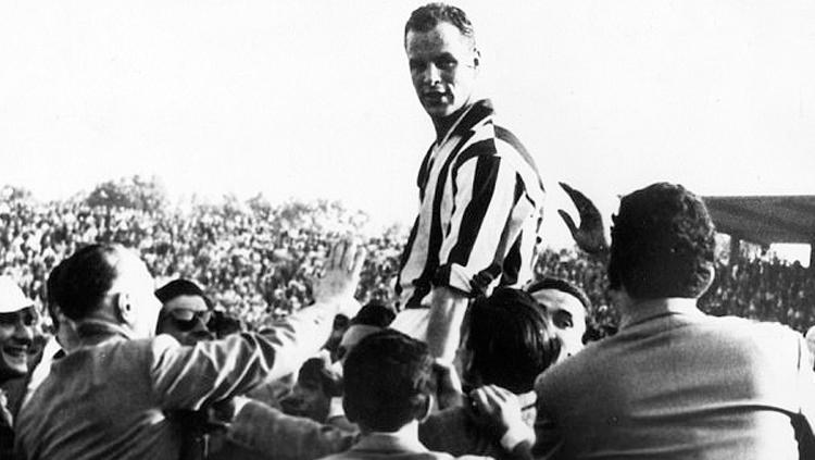 John Charles. Copyright: The Daily Mail
