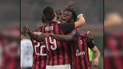 Indosport - Frank Kessie dan Krzyszstof Piatek, 2 pemain bintang AC Milan.