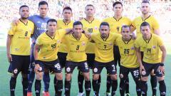 Indosport - Jalannya pertandingan Newcastle Jets vs Persija.