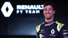 Indosport - Pembalap Renault, Daniel Ricciardo.