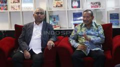 Indosport - Gelar rapat perdana, Komite Ad Hoc perdamaian persepsi dengan Satgas Anti Mafia Bola.