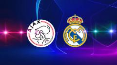 Indosport - Ajax Amsterdan vs Real Madrid