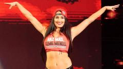 Indosport - Nikki Bella pegulat asal Amerika Serikat