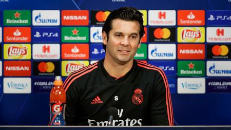 Santiago Solari, mantan pelatih Real Madrid. - INDOSPORT