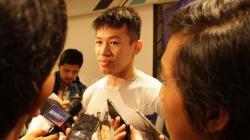 Pemain Timnas Basket Indonesia, Abraham Damar meladeni tantangan jawab cepat dari INDOSPORT.