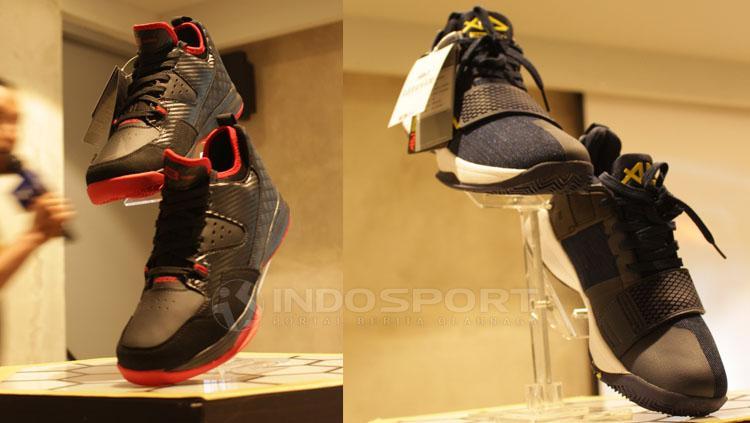 Penampilan sepatu baru DBL Copyright: Neneng Astrianti/INDOSPORT