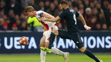 Ajax vs Real Madrid - INDOSPORT