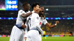 Indosport - Pertandingan Tottenham vs Dortmund, Liga Champions