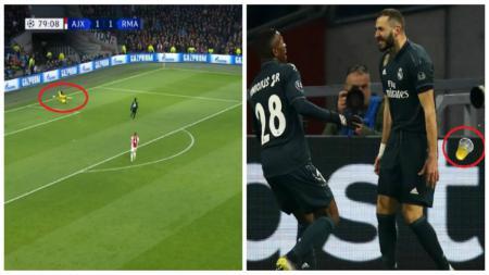 3 kejadian di luar nalar di laga Ajax vs Real Madrid. - INDOSPORT