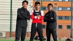 Indosport - Skuat Garuda Select di sela-sela latihan.