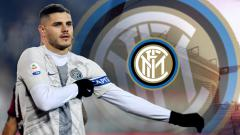 Indosport - Mauro Icardi, striker Inter Milan.