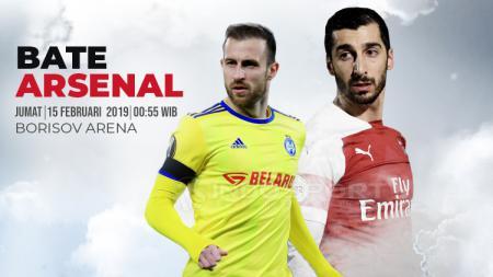 Prediksi pertandingan Liga Europa antara Bate vs Arsenal, Jumat (15/02/19). - INDOSPORT