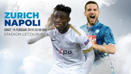 Prediksi Pertandingan Liga Europa 2018/19 FC Zurich vs Napoli. - INDOSPORT