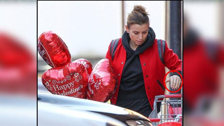 Coleen Rooney, istri dari Wayne Rooney. Copyright: SplashNews/TheSun