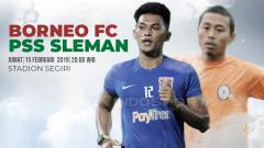 Indosport - Prediksi Borneo FC vs PSS Sleman