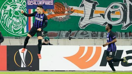 Pertandingan Liga Europa, Rapid Wina vs Inter Milan - INDOSPORT