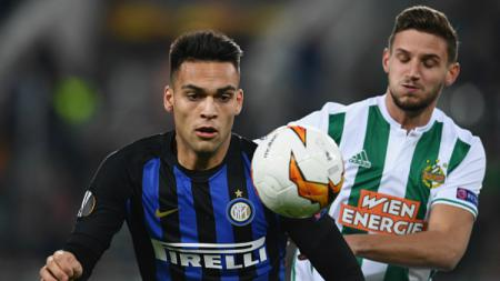 Pertandingan Liga Europa, Rapid Wina vs Inter Milan - INDOSPORT