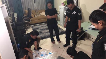 Penggeledahan dan penyitaan di kediaman/apartemen Joko Driyono. - INDOSPORT