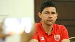 Indosport - Pelatih PSM, Darije Kalezic dalam jumpa pers Piala Indonesia