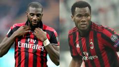 Indosport - Pemain AC Milan, Bakayoko, Kessie