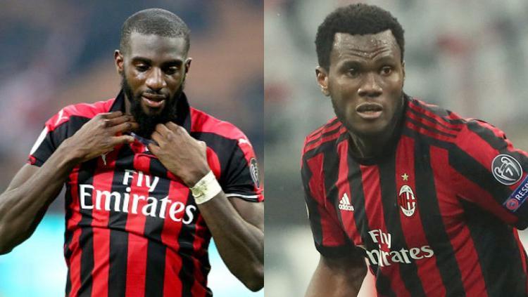 Pemain AC Milan, Bakayoko, Kessie Copyright: Kolase Getty Images