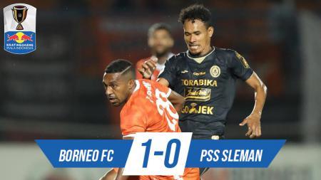 Hasil pertandingan Borneo FC vs PSS Sleman. - INDOSPORT