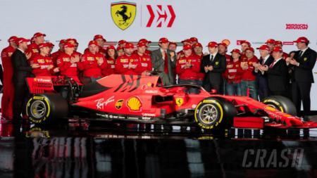 Ferrari rilis mobil baru yang diberi nama SF90 untuk Formula 1 2019 - INDOSPORT