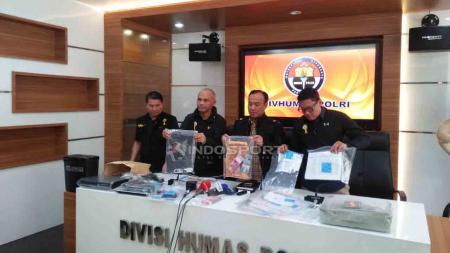 Satgas Anti Mafia Bola akan terus pantau pertandingan sisa di Liga 1 2019. - INDOSPORT
