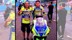 Indosport - Pembalap nasional road race M. Zaky