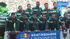 Indosport - Tim Persebaya Surabaya.