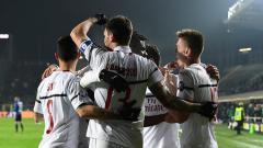 Indosport - atalanta vs ac milan, pertandingan serie a italia
