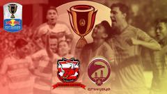 Indosport - Madura United vs Sriwijaya FC